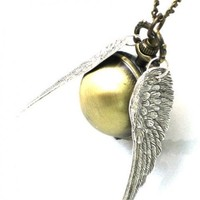 Steampunk Harry Potter ENCHANTED - Golden Snitch - POCKET WATCH - L...... | GlazedBlackCherry - Jewelry on ArtFire