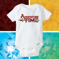 Adventure Time baby shirt Onesuit - Adventure Time Onesuit cute - baby Onesuit - Kitty Onesuit - Baby Clothing -
