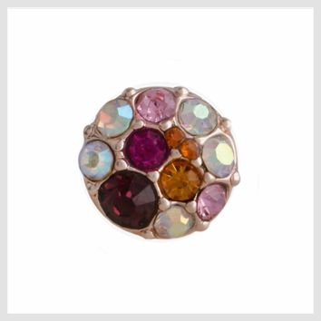 Rose Gold Multicolor Pink and Purple 12mm Mini