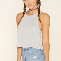 Flared Racerback Crop Top