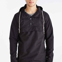 Native Youth Overhead Peak Jacket- Black