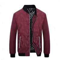Men's High-end Fashion Temperament College Baseball Jackets Blazer Masculino Slim Fit Brand Clothing Mens Jackets And Coats