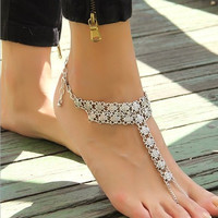 2017 Fashion Bohemia Barefoot Beach Sandals Anklet Retro Cheville Foot Jewellery