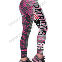New England Patriots 3D Printed Leggings & Yoga Pants (Style 2 High Quality)