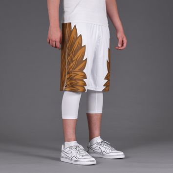 Icarus 3 White Gold Shorts