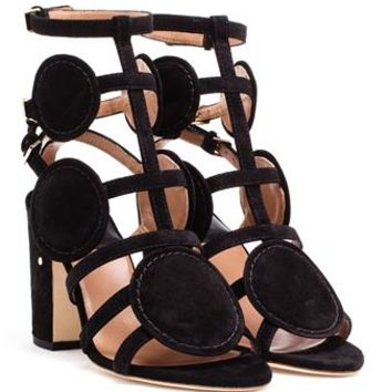 LAURENCE DACADE | Velvet Halistair Sandals | Browns fashion & designer clothes & clothing