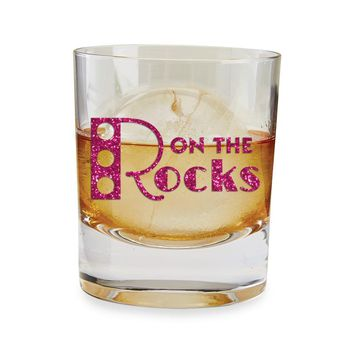 On the Rocks Whiskey Glass & Ice Mold