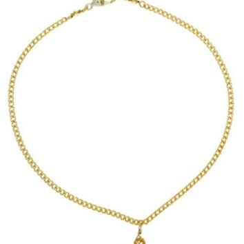 VidaKush Mary Jane Gold Anklet