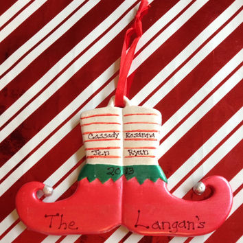 Personalized Family Ornament by langanfamilyfinds on Etsy