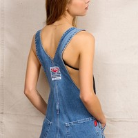 Urban Renewal Mud Cloth Overall Short - Urban Outfitters