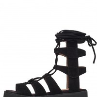 Jeffrey Campbell Shoes ORIZABA in Black Suede