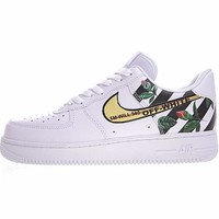 "Virgil Abloh Off White x Nike Air Force 1 Low Sneaker ""OW""315122-111"