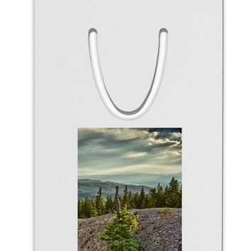 Nature Photography - Pine Kingdom Aluminum Paper Clip Bookmark by TooLoud