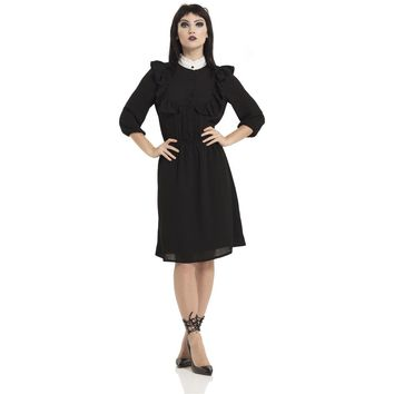 Dark Wednesday Frock Dress
