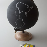 Jamie Young Large Chalkboard Globe