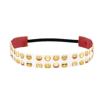 emojis headband athletic headbands