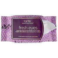 tarte Fresh Eyes Maracuja Waterproof Eye Makeup Remover Wipes (30 pre-moistened wipes)