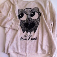 It's owl good sweatshirt.  from Rose At Dawn