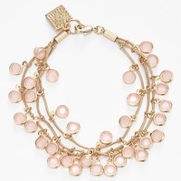 Women's Anne Klein 'Beacon Ct.' Multistrand Charm Bracelet - Gold/