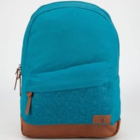 Volcom Supply & Demand Backpack Teal Green One Size For Women 23826051201
