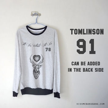 Louis Tomlinson Tattoo Long Sleeve T-shirt / Louis Tomlinson Sweatshirt / Tumblr