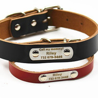 Cute Personalize Dog Collar