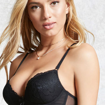 Wire-Free Lace Bra