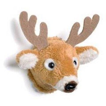 Mounted White Tail Deer Magnet Head 2-inches