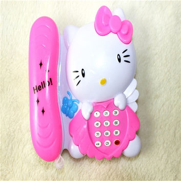 Baby Educational Electronic Toys Children Musical Phone Toys/ Baby Musical Sound Cell Phone/Developing Toys