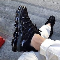 Nike Air Vapormax Plus Triple White Running Sneakers Sport Shoes Black