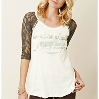Free People - Grandpa Jersey Renegade Raglan