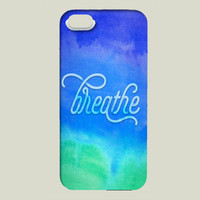 Breathe iPhone case by noondaydesign on BoomBoomPrints