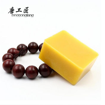 About 100g Natural Beeswax Text String Playing Hand Carved Wooden Carving Mahogany Furniture Wax Waxing Polishing Secret