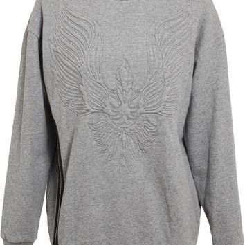 3.1 Phillip Lim Oversized Phoenix Motif Cotton Sweatshirt