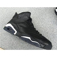 "Air Jordan 6 ""Black Cat"" Basketball Shoes 41-47"