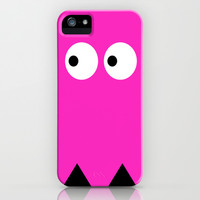Pink Ghost iPhone & iPod Case by Pop E. Carp