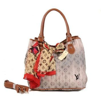 Louis Vuitton LV Women Fashion Leather Satchel Tote Handbag Shoulder Bag Crossbody