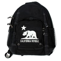 California Republic Bear Flag Backpack