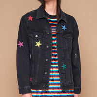 GALAXY DENIM JACKET - The Ragged Priest