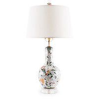 Aviary Garden Porcelain Lamp