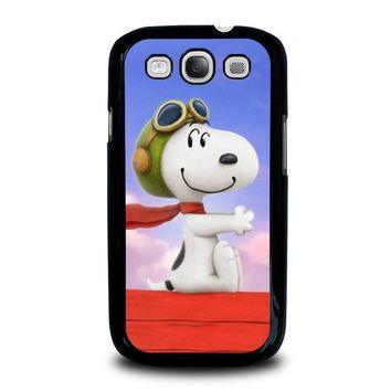 snoopy dog samsung galaxy s3 case cover  number 1