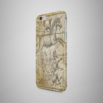 Stars Antique Map iPhone 8 Case iPhone 8 Plus Case