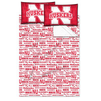 Nebraska Cornhuskers NCAA Full Sheet Set (Anthem Series)