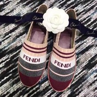 Fendi Women Cloth fisherman shoes