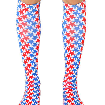 USA! Knee High Socks
