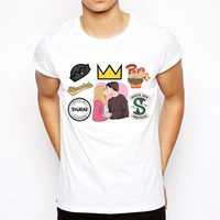 Riverdale New arrival t-shirt Fashion Design T Shirt Men's High Quality white t-shirt male Custom Printed Tops Tees