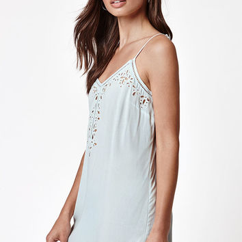 LA Hearts Embroidered Shift Dress at PacSun.com