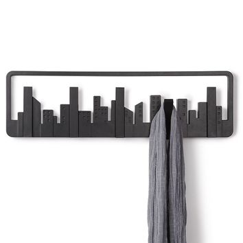 Umbra Skyline 5-Hook Wall Hanger (Black)