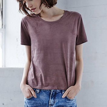 Me To We Radlands Faux Suede T-Shirt at PacSun.com