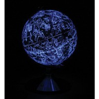 Celestial Globe: Globe by Day, Constellations by Night | Edmund Scientific